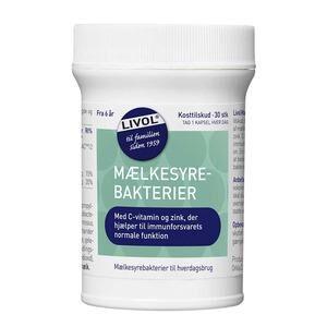 Livol mælkesyrebakterier - 30 stk.