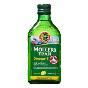 Møllers Tran m. Citrus Omega 3 - 250 ml