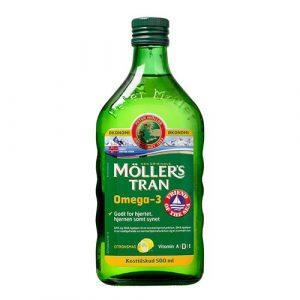 Møllers Tran m. Citrus Omega 3 - 500 ml