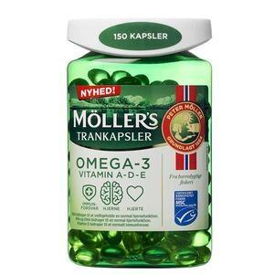 Møllers Tran kapsler - 150 kaps