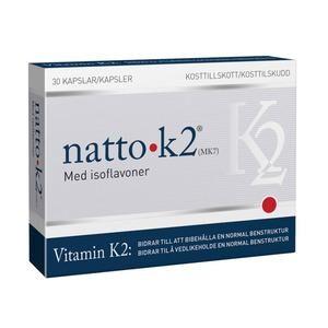 Natto K2 vitamin 200µg - 30 kapsler