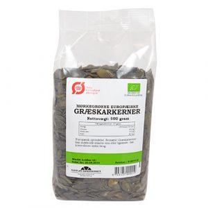Natur-Drogeriet Græskarkerner Afskallede Europæisk Ø - 500 G