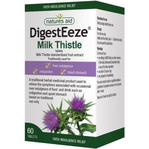 Natures Aid DigestEeze (Marietidsel) - 60 Tabletter