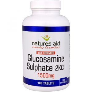 Natures Aid Glucosamin 1500mg - 1500 mg - 180 Tabletter
