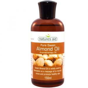 Natures Aid Sød Mandelolie / Massageolie - 150 ml