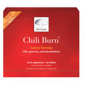 New Nordic Chili Burn - 60 Tabletter