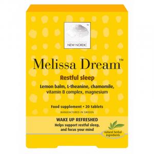 New Nordic Melissa Dream - 40 Tabletter