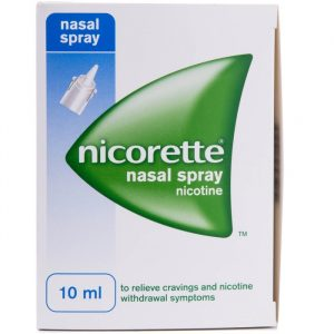 Nicorette Næsespray - 200 Sprays - 10 ml
