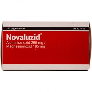 Novaluzid - 265 + 195 mg - 100 Tabletter