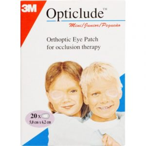 Opticlude Junior Skeleplaster - 5 x 6 cm cm - 20 Stk.