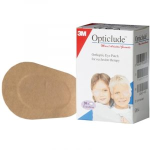 Opticlude Maxi skeleplaster - 8,2 x 5,6 cm - 20 Stk.