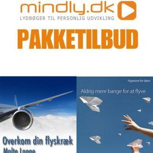 Overkom din flyskræk + Aldrig mere bange for at flyve (Familiepakken)