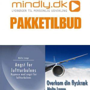Overvind din flyskræk + Angst for luftturbulens hypnose (Pakketilbud)