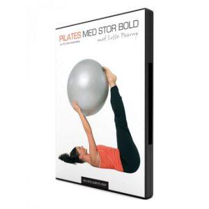 Pilates med stor bold