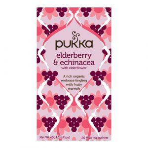 Pukka Elderberry & Echinacea Te Ø (20 breve)