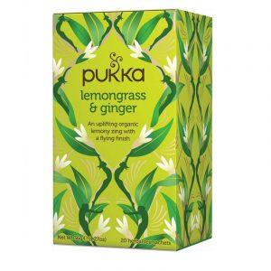Pukka Lemongrass & Ginger Te - 20 Breve