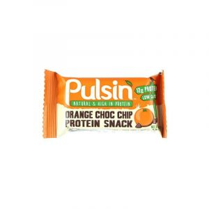 Pulsin Orange Chocolate Chip Protein Snack - 18 Bars - 50 Gram
