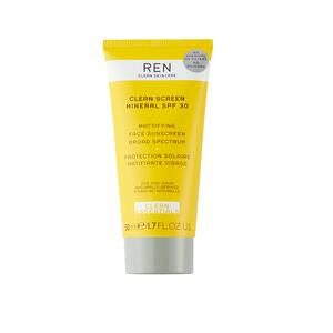 REN Clean Screen Mineral solcreme SPF 30 - 50 ml.