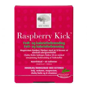 Raspberry Kick fedt- og kalorieforbrænding 60tab