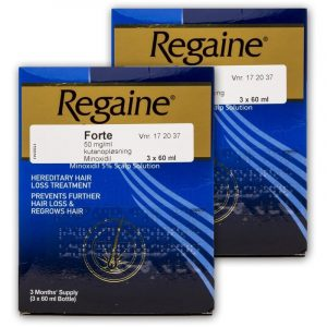 Regaine Forte Mod Hårtab - 5 % - 6 x 60ml