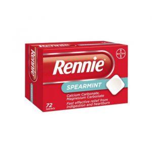Rennie Mynte - 680/80 mg - 72 Tabletter