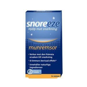 Snoreeze Mund-strimler mod snorke - 14 stk