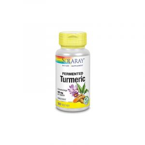 Solaray Turmeric Fermenteret - 425 mg - 100 Kapsler