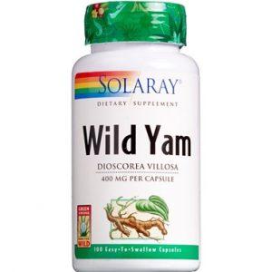 Solaray Wild Yam 100 stk