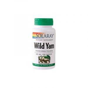 Solaray Wild Yam Root - 100 Kapsler