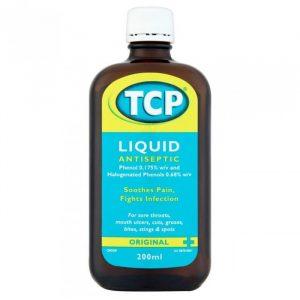 TCP Antiseptisk Væske - 10 % - 200 ml