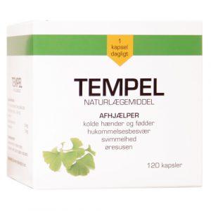 Tempel-Ginkgo biloba 30 mg 120 kap fra Mezina