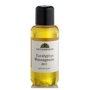 Urtegaarden Økologisk Eucalyptus Massageolie - 100 ml