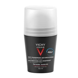 Vichy Homme Antiperspirant Deo Roll-On 48h - 50 ml