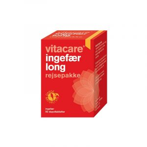 VitaCare Ingefær Long - 50 Tabletter