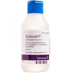 Xylocain Opløsning - 5 % - 100 ml