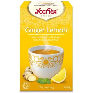 Yogi Tea Ginger Lemon Te - 17 Breve