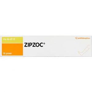 Zipzoc 10 stk Imprægneret gaze